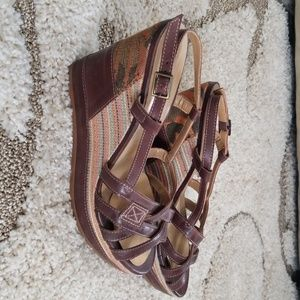Wedge sandals by Sunflower